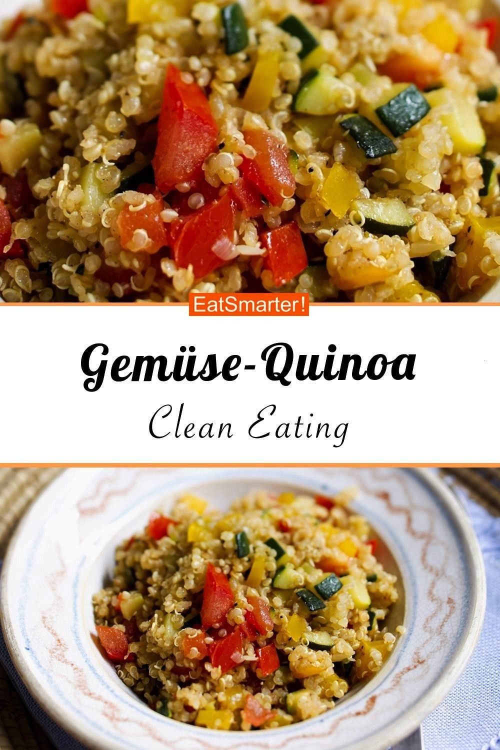 quinoa -  Vegetable quinoa – smarter – calories: 254 kcal – time: 30 min. |   -Vegetable quin