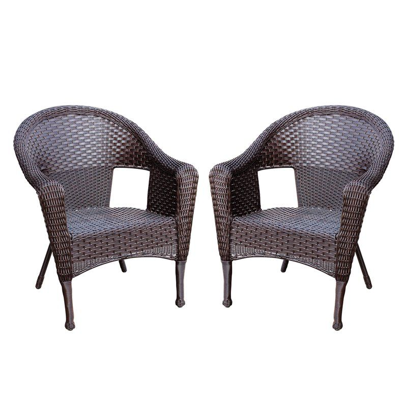 Kentwood Resin Wicker Patio Chair Without Cushion Wicker Patio Chairs Resin Patio Furniture Patio Chairs