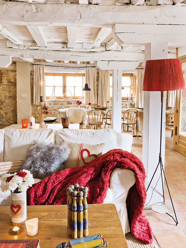 3 Home Decor Trends For Spring Brittany Stager: Spanish Stone Cottage Evoking A Warm Rustic Feel