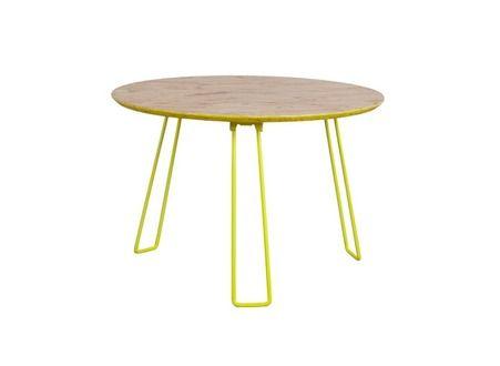 Design Kennedy Achat Scandinave Table Basse Taille Jaune MUVpqSz