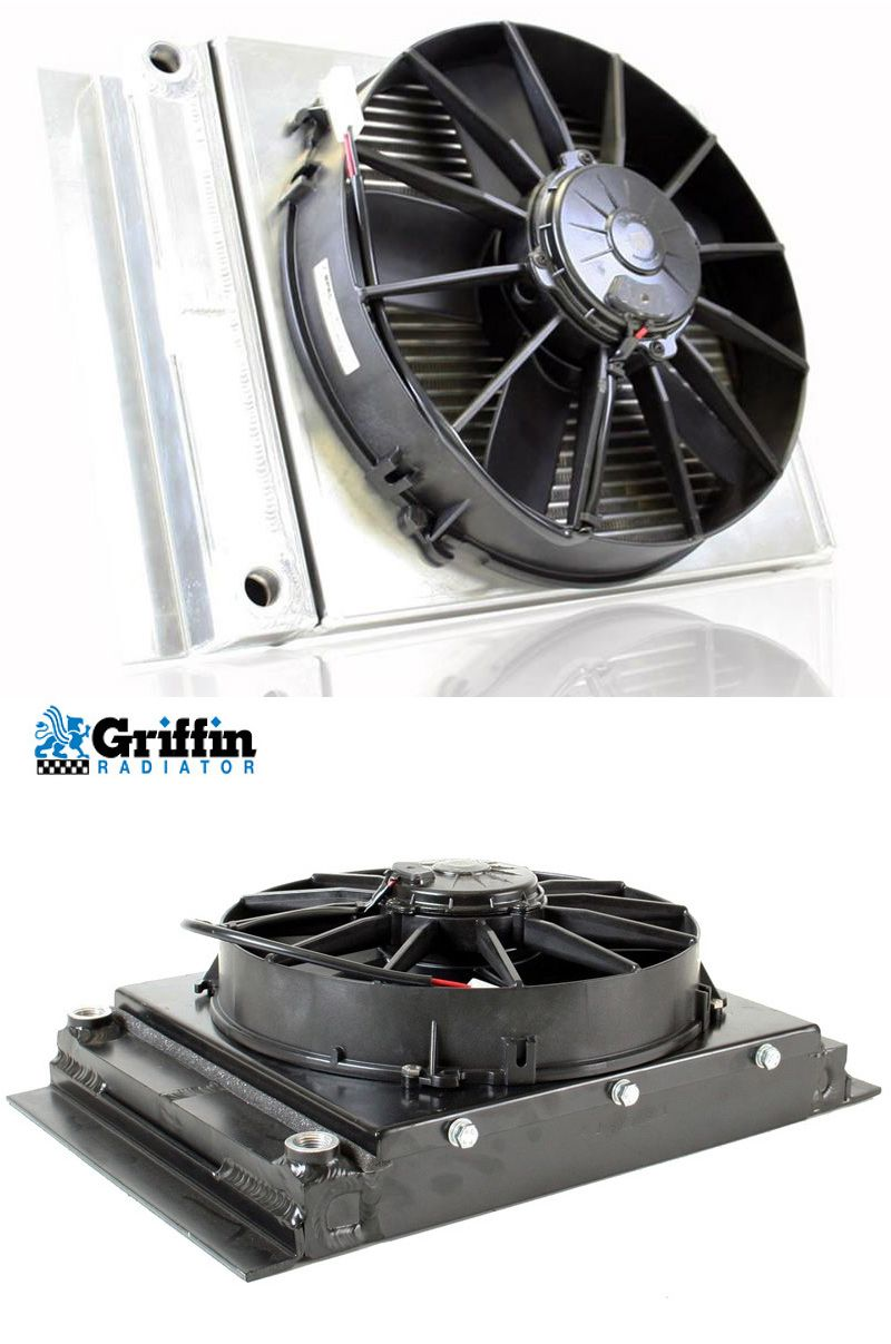 Griffin Radiators Large Fluid Cooler With Electric Fan Can Be Used