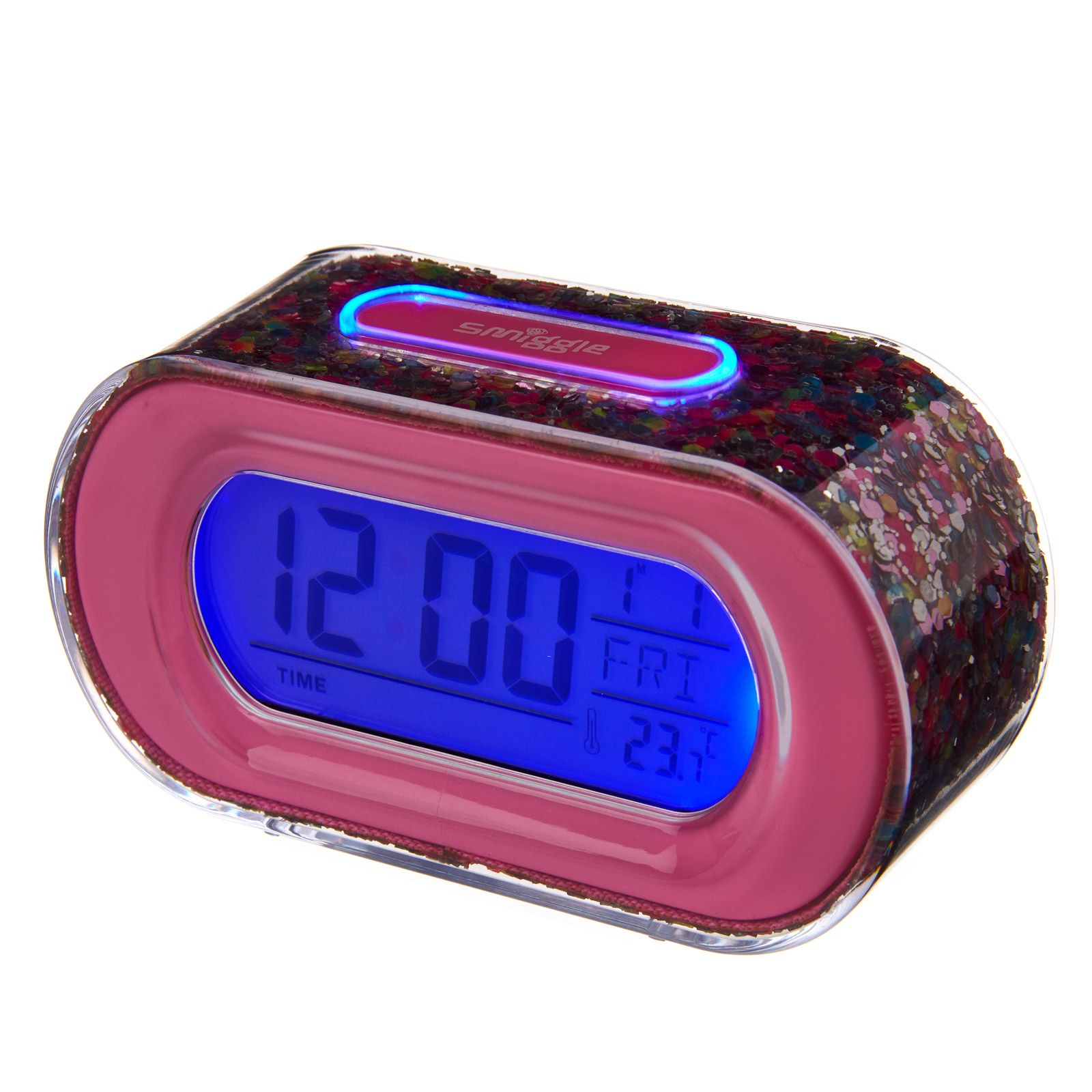 Time To Shine Clock Pink Smiggle
