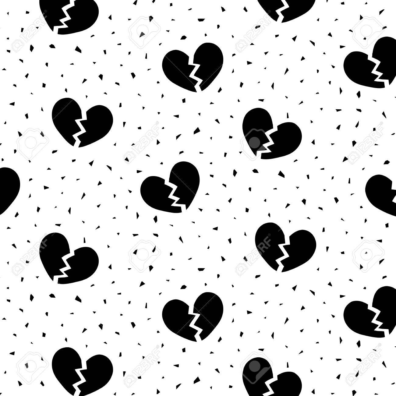 Image Result For Broken Heart Pattern