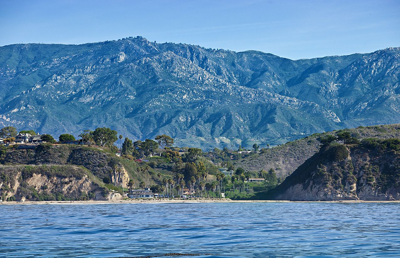 "Santa Barbara ""The Pit"". by Photograph Mark Cabot http://www.cabot.no"