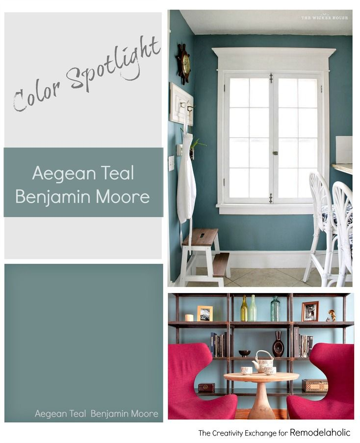Teal Kitchen Oak Cabinets: Aegean Teal By Benjamin Moore Is One Of The Best Rich Teal