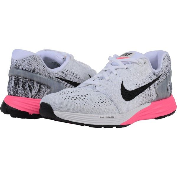 7e15f0ffbea Nike Lunarglide 7 (White Pink Blast Black) Women s Running Shoes ( 70