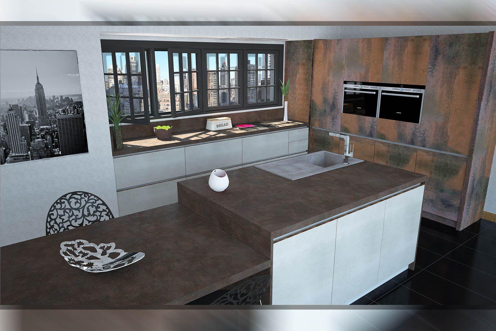 Cocina completa montada en casa con electrodom sticos for Cocinas completas con electrodomesticos