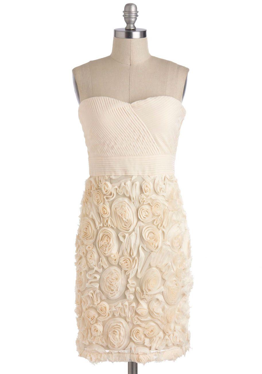 Vanilla Cream and Sugar Dress, ModCloth. Reviews say this