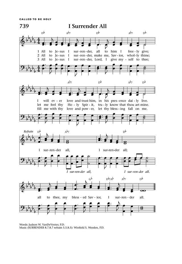 Surrender Lyrics