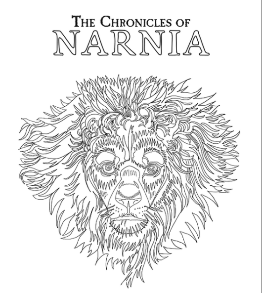 Narnia Coloring Book for All Ages | The Chronicles Narnia Coloring ...