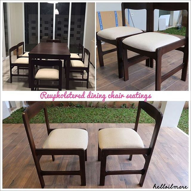 mid century dining chair
