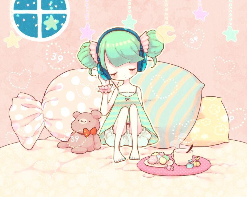 Vocaloid, Hatsune Miku, Drinks