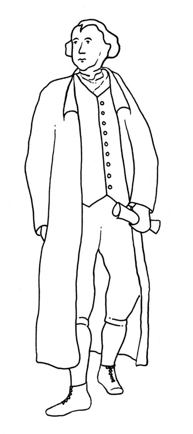 Help Thomas Jefferson see the modern world! Print out and