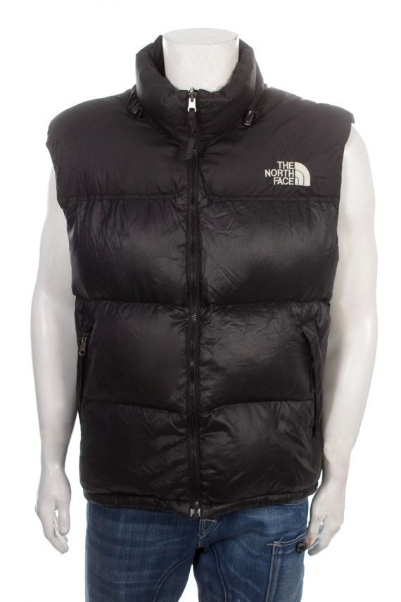 dad738386 The North Face Nuptse Vest Gilet Jacket Goose Down by VapeoVintage ...