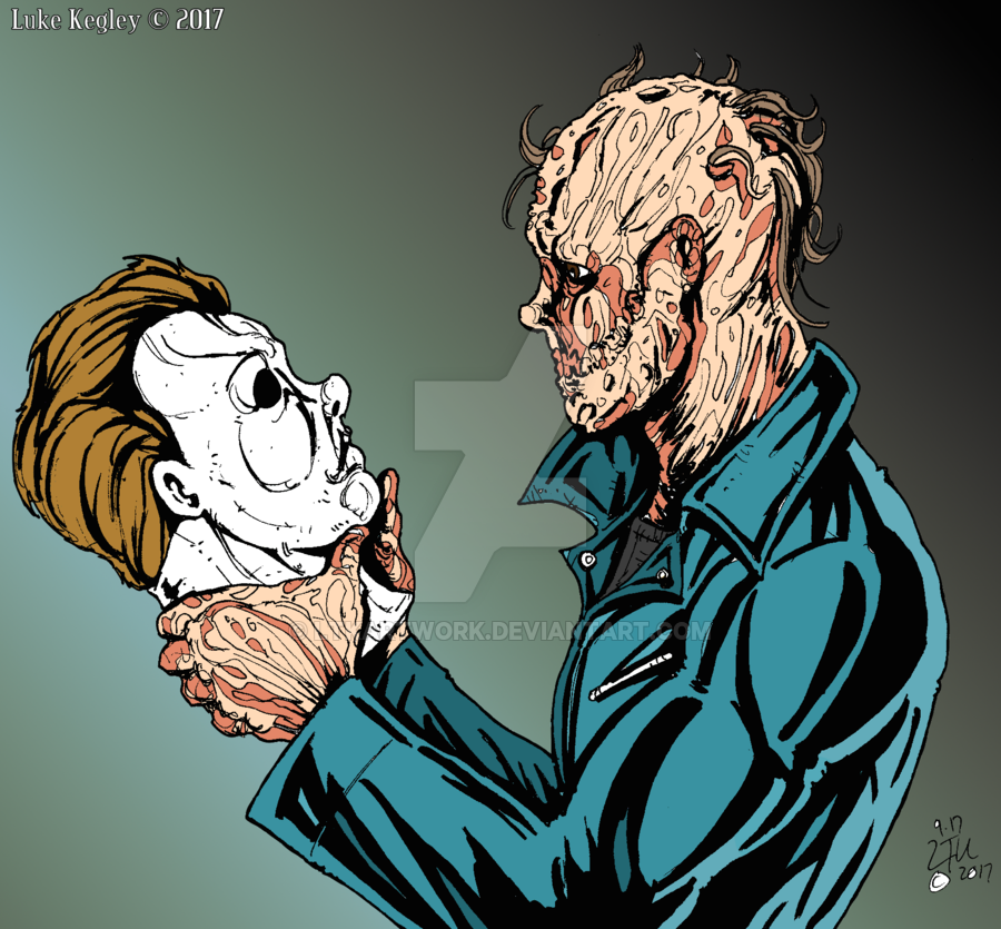 Halloween 2020 Michael Myers Unmasked Michael Myers Unmasked by LTKArtwork.deviantart.on @DeviantArt