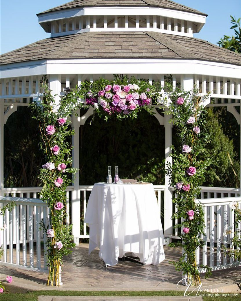 Civil Wedding Ideas: #gazebo #wedding #ceremony