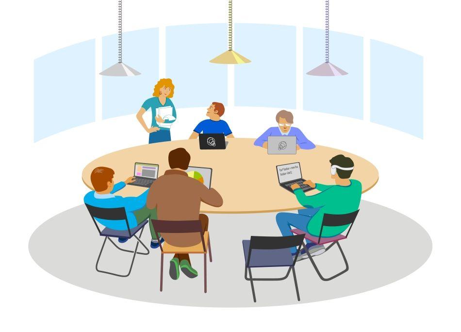 Entrevistas De Trabajo En Mesa Redonda Como Funcionan Y Como Superarlas Entrevista De Trabajo Mesa Redonda Portafolio Digital
