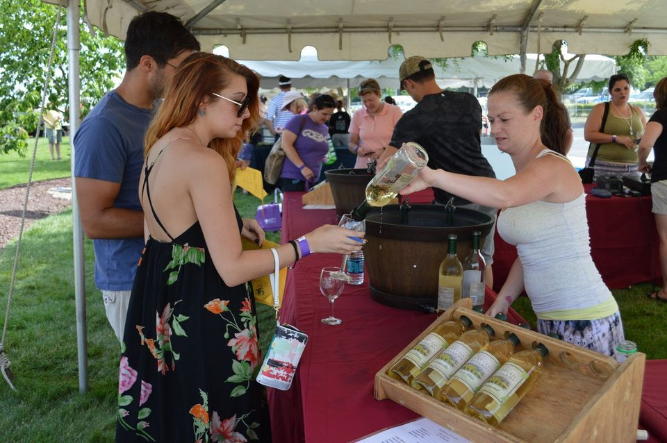 Jersey Shore Wine Festival 1,000 on first day