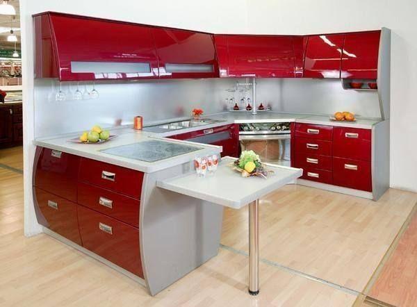 Red Kitchen Kitchen Design Kitchen Design Small Simple Kitchen Design