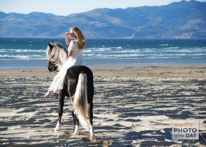 One Day I Will Have A Horse And Ride Her On The Beach