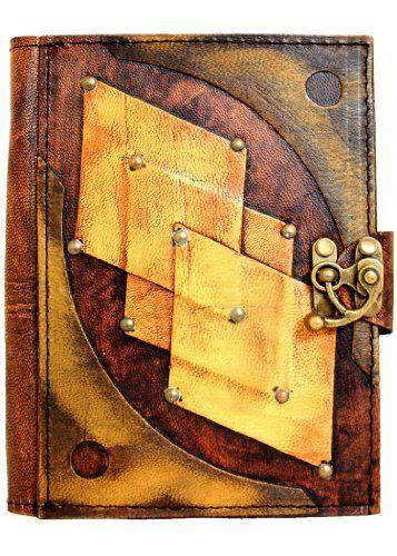 Embossed Diamond Vintage Style Handmade Leather Amazon