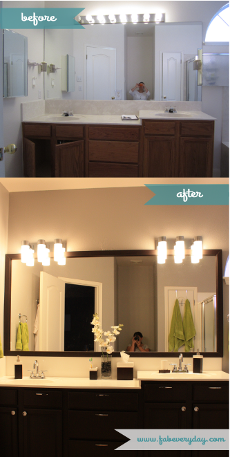 Photo of DIY Master Bathroom Makeover on a Budget – From Builder-Grade to Contemporary | Fab Everyday