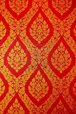 Indian Style Fabric Id Love To Incorporate This In Her Curtains Or Even Possible A Wallpaper Idea Red Gold