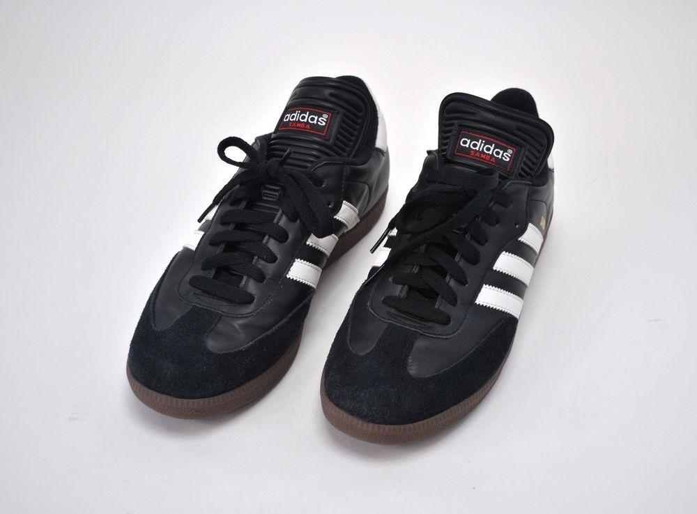 ba921c6b4ec Adidas Men s Samba Classic Soccer Lifestyle Shoe Size 9 Black White Futbol   adidas  AthleticSneakers