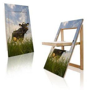 Hochwertig Der PicChair Ist Eine Kombination Aus Klappstuhl Und Wandgemälde   Fototapete  Nach Maß