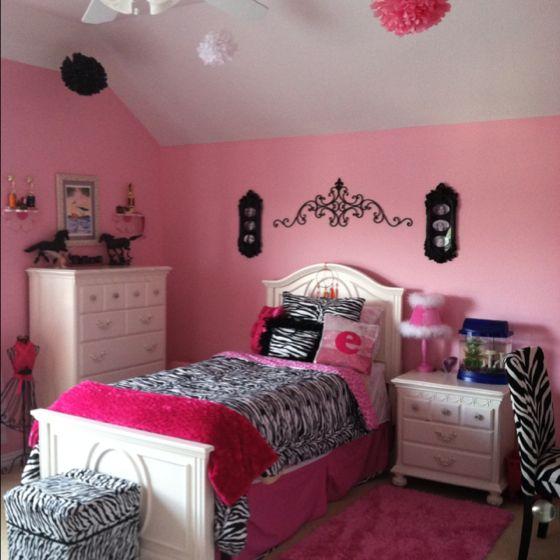 My Bedroom: My Little Girl's Dream Room. She Loves The Tissue Paper