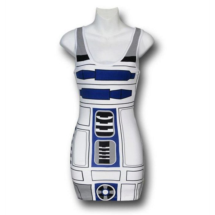 Plus Size #StarWars R2D2 Tank Dress | Plus Size Star Wars Dress ...