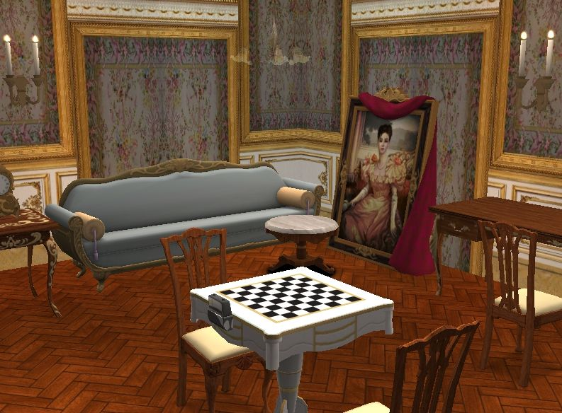 TheNinthWaveSims: The Sims 2 - TS3 Store Palace of Versailles Set for The Sims 2