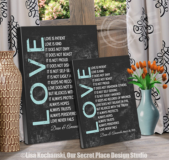 Love Decor Signs Glamorous Love Is Patient Love Is Kind Sign 1 Corinthians 13 Sign Love Is Decorating Inspiration
