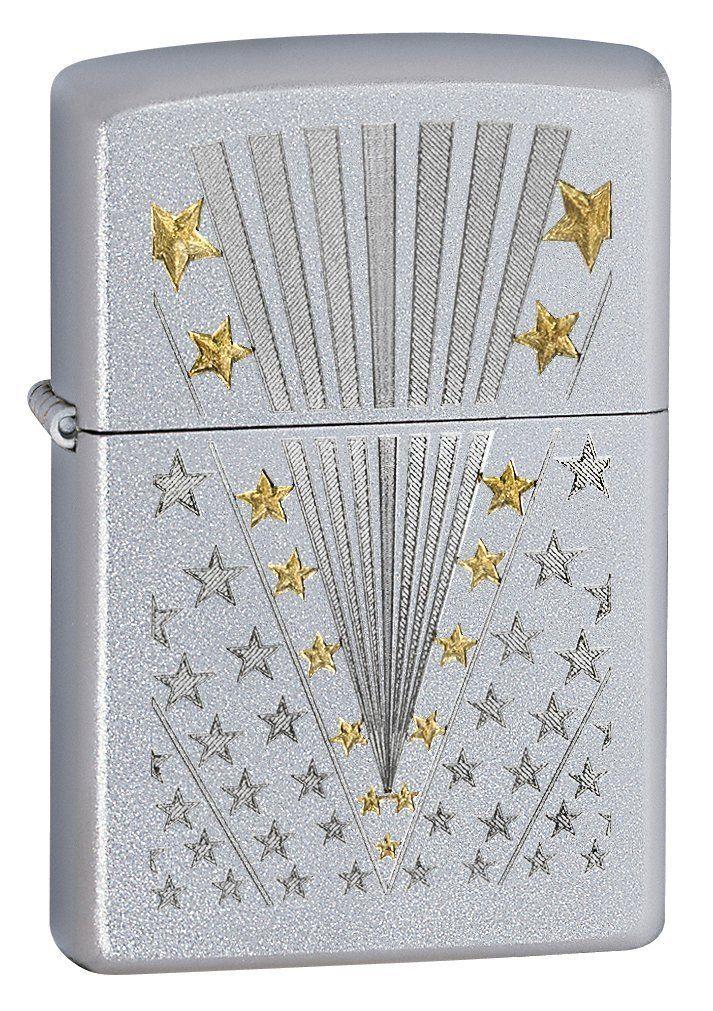 Amazon Com Zippo Satin Chrome Flag Lighter Silver 5 1 2x3 1 2 Cm Sports Zippo Lighter Engraved Zippo Zippo