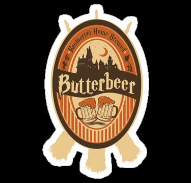 Harry Potter Butterbeer Logo Rosmerta's Home Brewed...