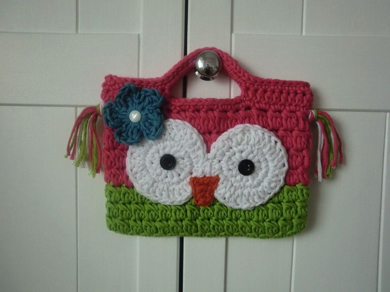 crochet owl purse patterns free | photo credit by misi.co.uk | Stuff ...