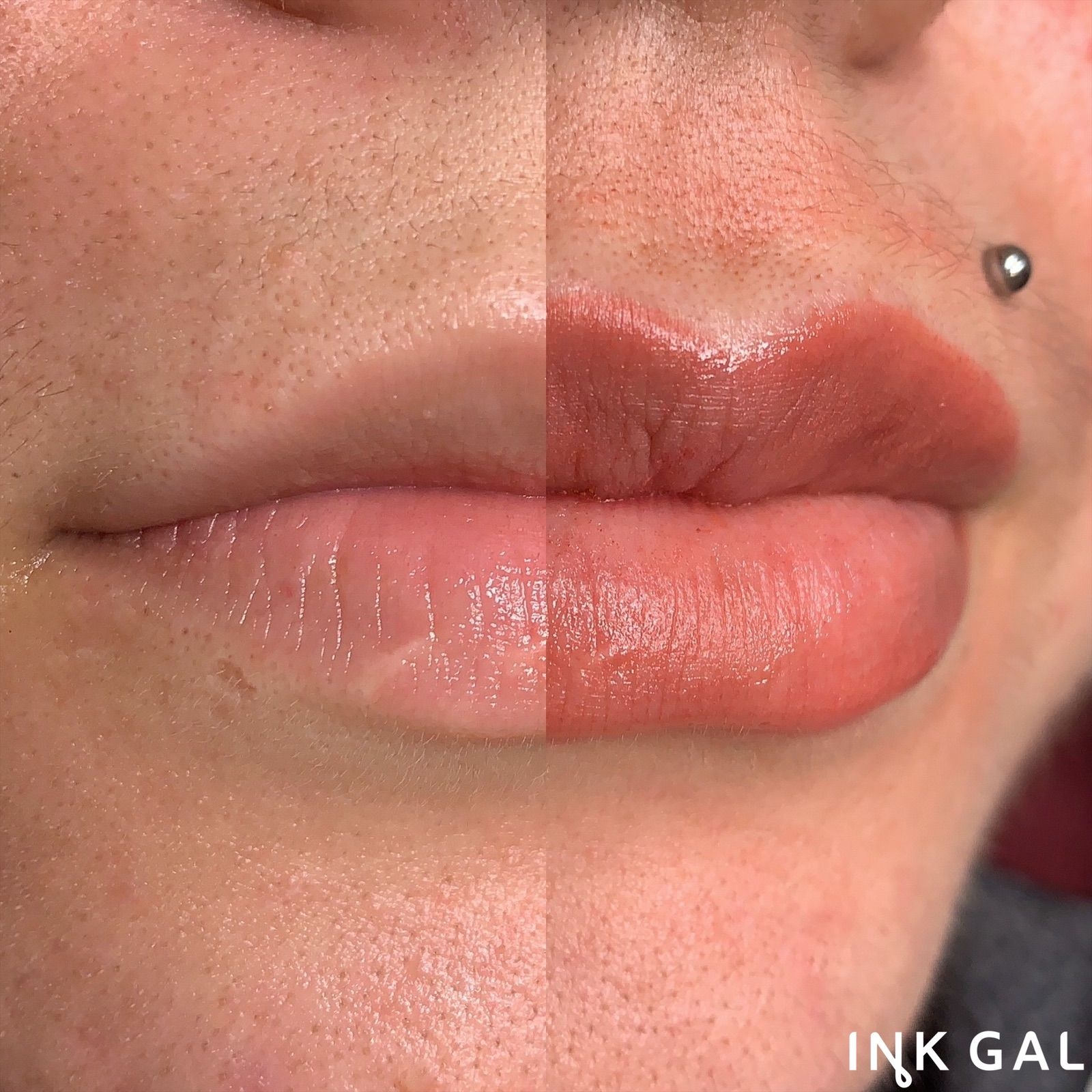 Aka Lip Blushing #lipblush #lipblushing #liptattoo #lips #cosmetictattoo #tattoo #makeup #permanentmakeup