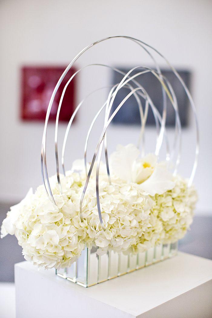 architectural floral arrangement | Breathtaking Modern ...