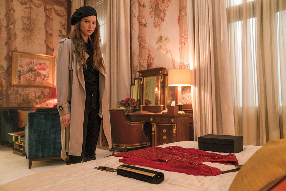 Jennifer Lawrence As Dominika Egorova In Red Sparrow Com Imagens