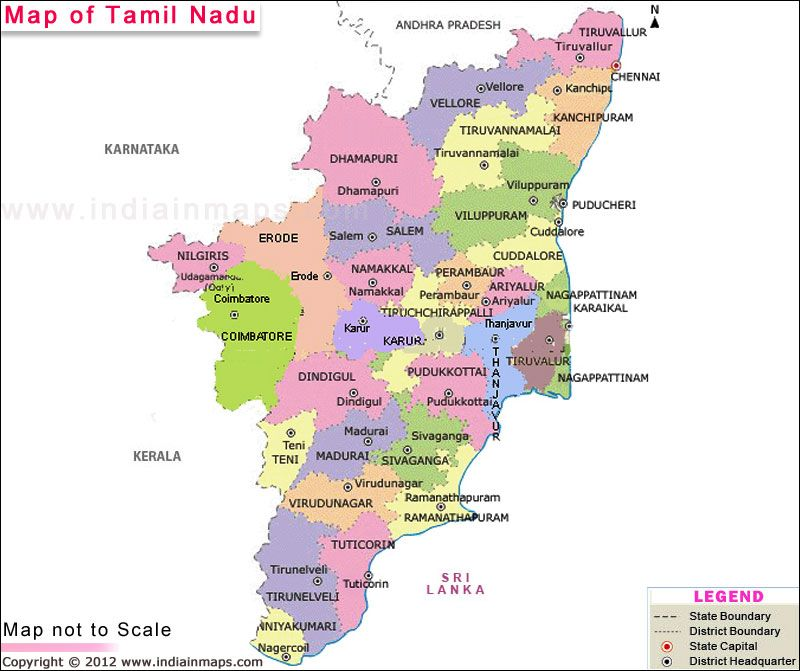 Tamil nadu map state maps pinterest tourism and city tamil nadu map gumiabroncs Image collections