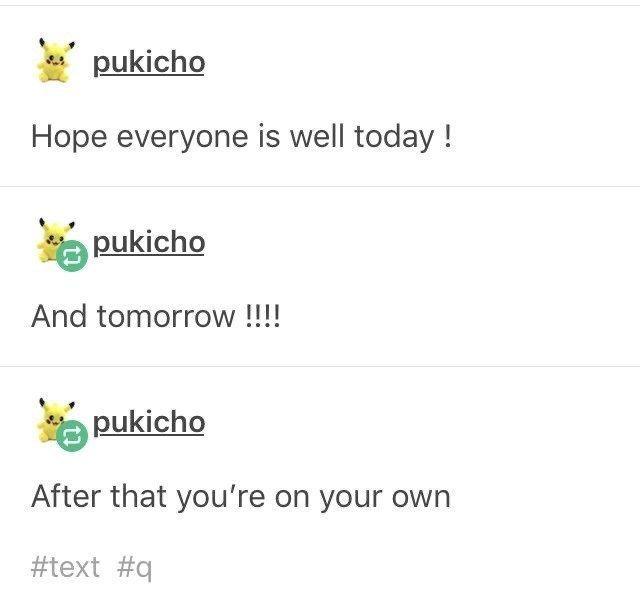 Photo of Twenty-Seven Humorous Gems From 'Pukicho' The Tumblr God