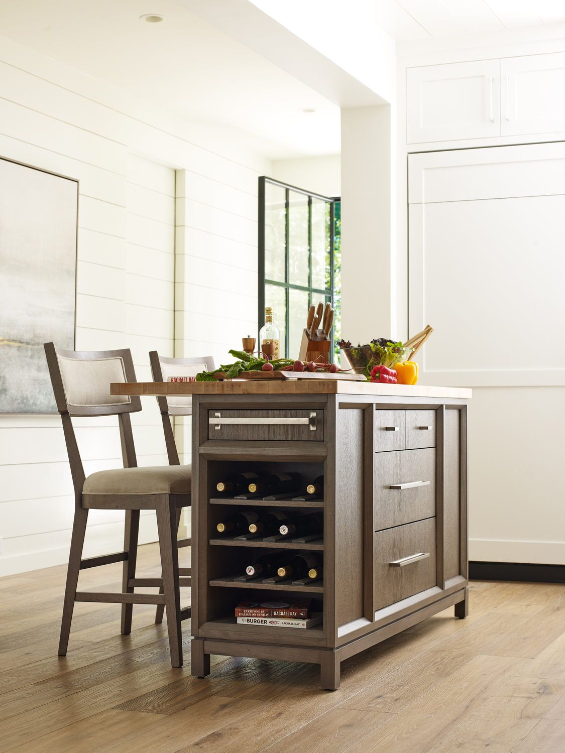 Highline Kitchen Island Hom Furniture Centerpiece