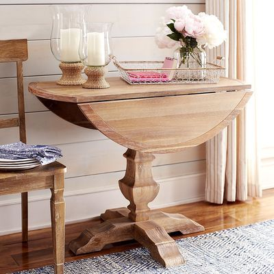 Bradding Drop Leaf Dining Table Natural Whitewash Round Dining Table Dining Furniture Makeover Drop Leaf Dining Table