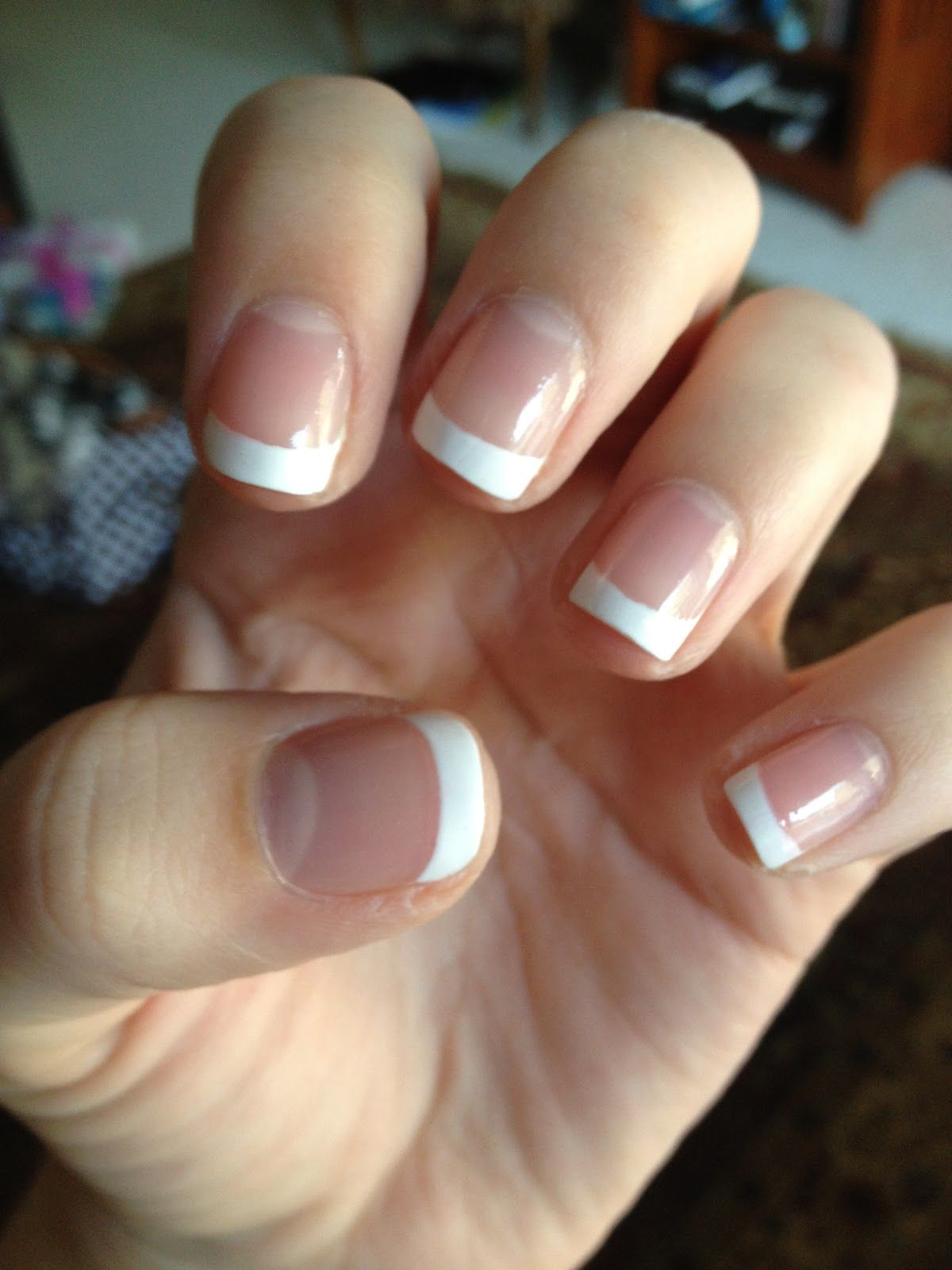 short square acrylic nails french manicure the image kid has it. Black Bedroom Furniture Sets. Home Design Ideas