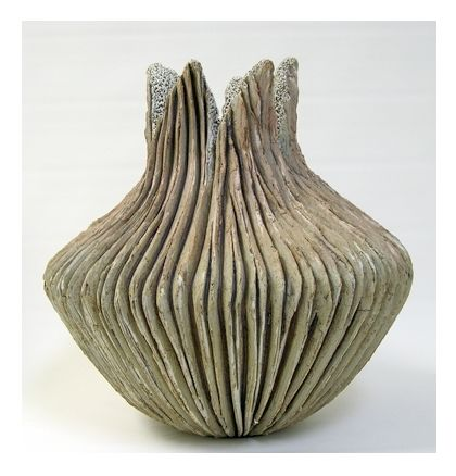 Volcano vase by Anne Goldman