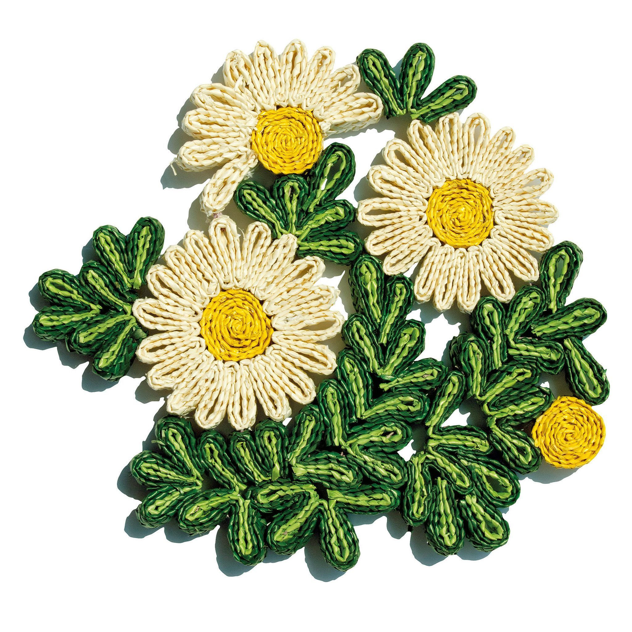 Florigraphie margherita straw pot holder design by seletti