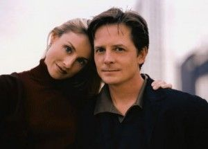 Michael j fox and wife tracy pollan we love romance for Michael j fox and tracy pollan love story
