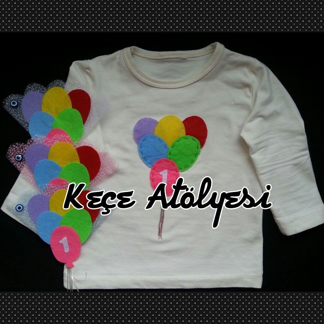 Magnetlerimiz ile uyumlu balonlu tişörtümüz :)