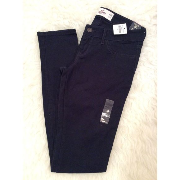 """✨Hollister   3R Super Skinny Jeans✨ ⚜Waist:26"""" ⚜Length: 31""""  Condition: No Rips; No Stains  No TradesNo Holds Hollister Jeans Skinny"""