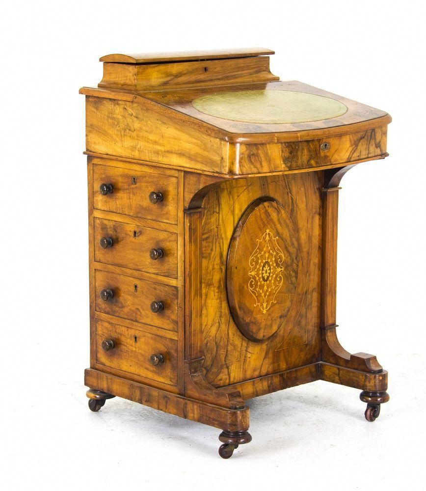 Tremendous Antique Desk Writing Table Davenport Desk Victorian Customarchery Wood Chair Design Ideas Customarcherynet
